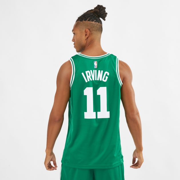new product 24638 aea1a Nike NBA Kyrie Irving Boston Celtics Icon Edition Swingman Basketball Jersey