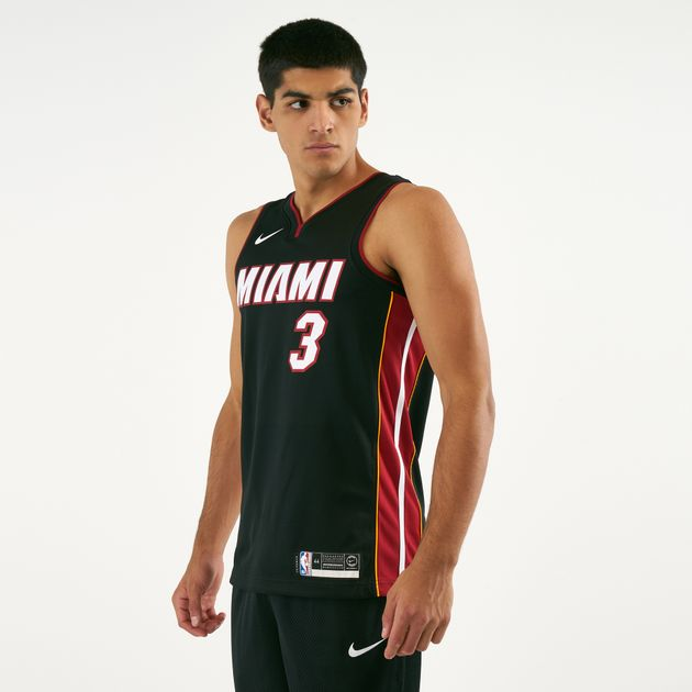 quality design 93f42 10d4e Nike Men's NBA Miami Heat Dwyane Wade Swingman Jersey ...