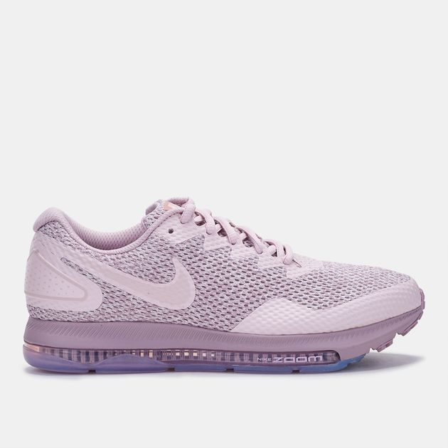 288c0ce7a55 Shop Pink Nike Zoom All Out Low 2 Running Shoe for Womens by Nike