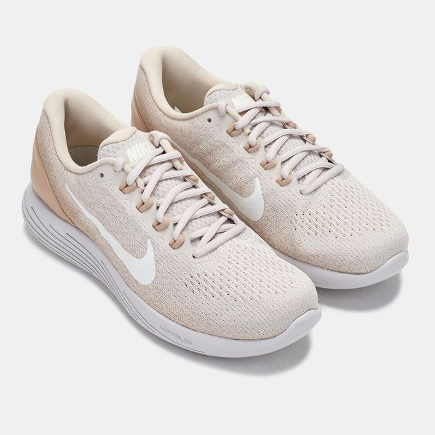 d9e6f8414f8f Shop Beige Nike LunarGlide 9 Running Shoe for Womens by Nike