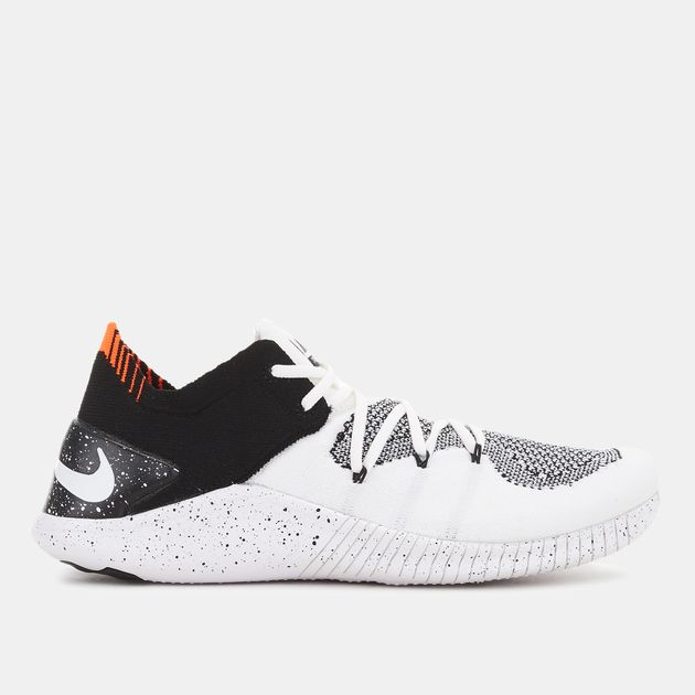 af176fa6dc0f White Nike Free TR Flyknit 3 Shoe