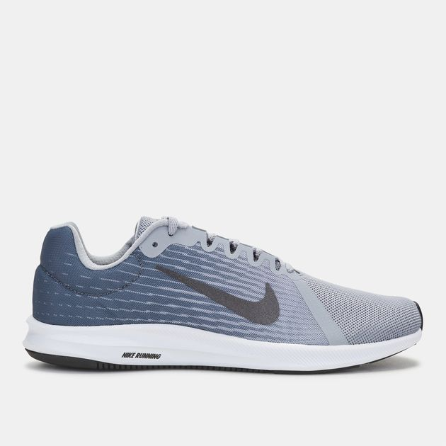 a8b9d6359 Shop Grey Nike Downshifter 8 Running Shoe for Mens by Nike