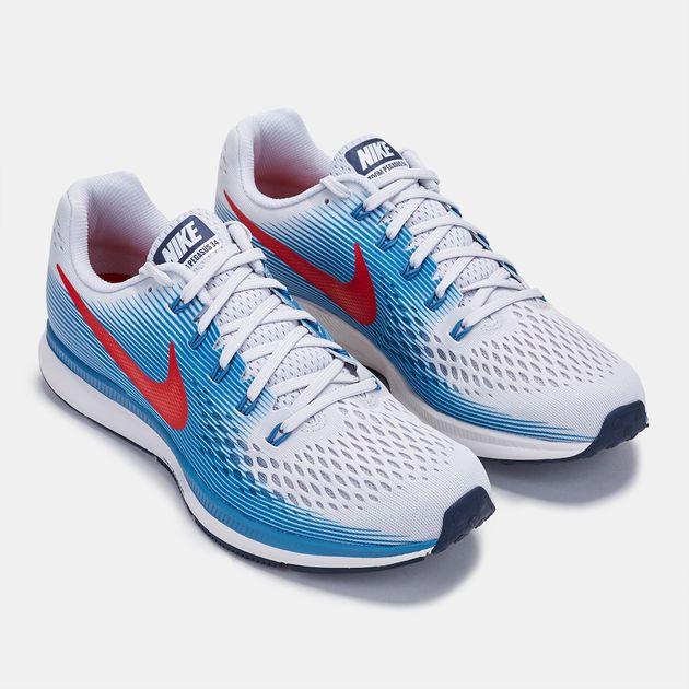 316938c171ec Shop Grey Nike Air Zoom Pegasus 34 Shoe for Mens by Nike