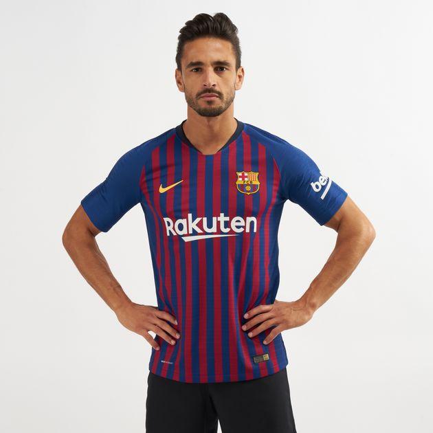 best sneakers ab7a8 ccec7 Nike FC Barcelona Vapor Match Home 2018/19 Football T-Shirt ...