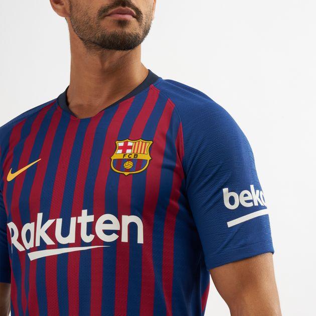best sneakers 81569 bb53f Nike FC Barcelona Vapor Match Home 2018/19 Football T-Shirt ...
