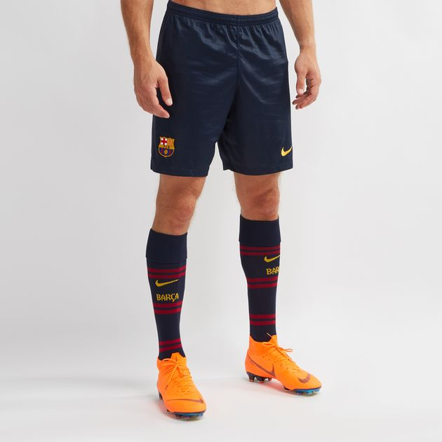 Shop Blue Nike Barcelona Stadium Home Shorts for Mens by Nike  17ffb64e512ab