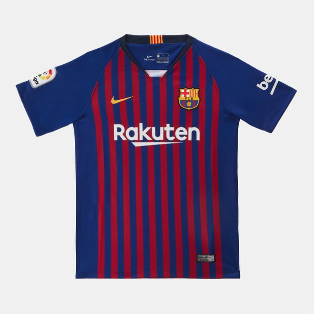 f521a7cb3bd Nike Kids' FC Barcelona Stadium Home Jersey 2018/19 (Older Kids ...