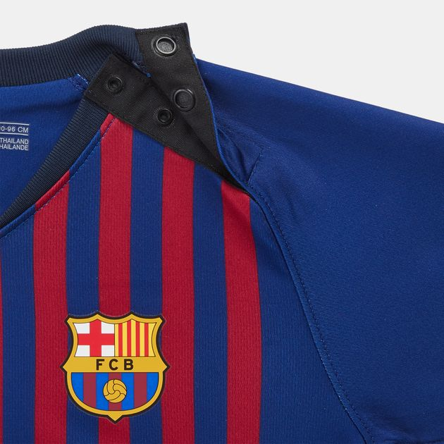 84560a267fc Nike Kids  Breathe FC Barcelona Home Football Kit (Baby and Toddler ...