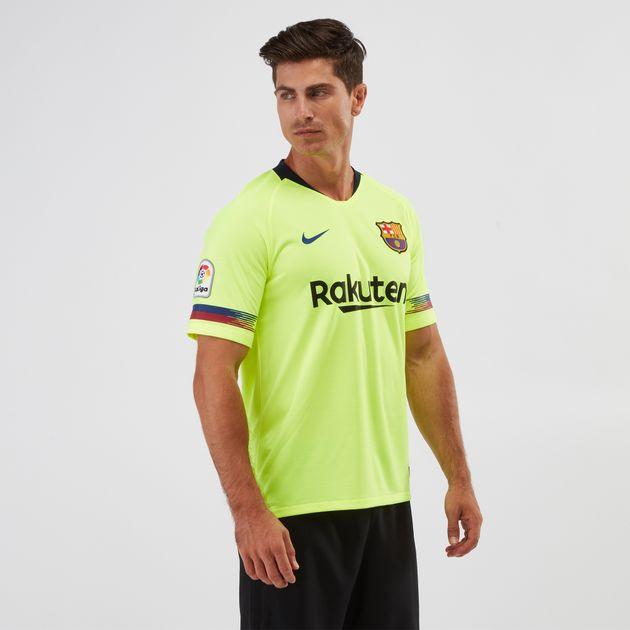 Nike Breathe FC Barcelona Away Jersey 2018