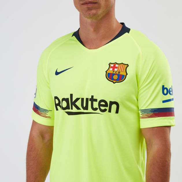 promo code e5696 88628 Nike Breathe FC Barcelona Away Jersey 2018