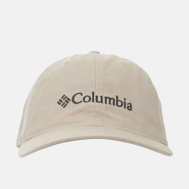 Shop Beige Columbia ROC™ Logo Ballcap for Mens by Columbia  1c6d66fc23c0