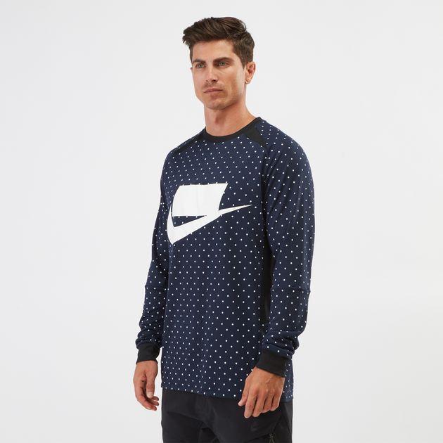 Nike Sportswear Long-Sleeve Fleece Sweatshirt