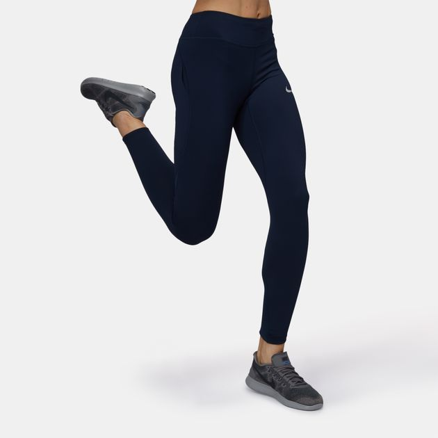 75d27e2a77f01 Shop Blue Nike Epic Lux Running Leggings for Womens by Nike 7 | SSS