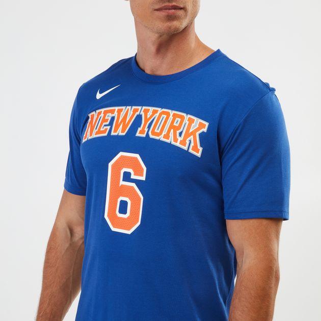 8a7d0f27 Nike Dry NBA New York Knicks Kristaps Porzingis T-Shirt | T-Shirts ...
