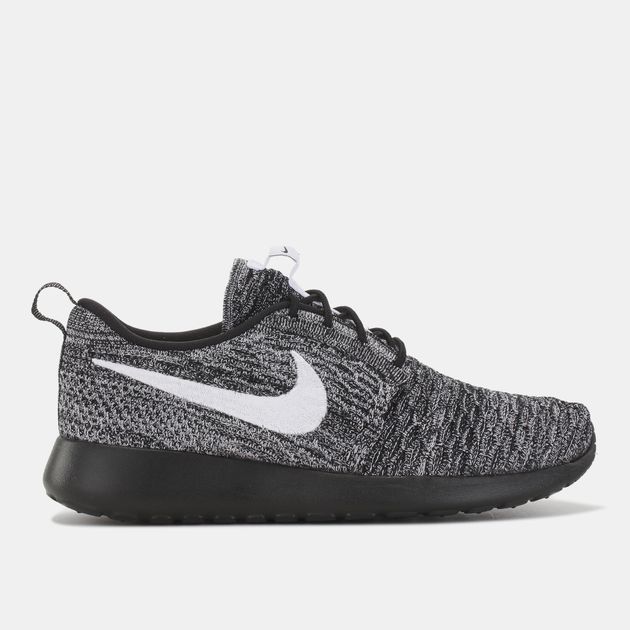 online retailer 07f5b a8cff Shop Black Nike Roshe One Flyknit Shoe for Womens by Nike | SSS