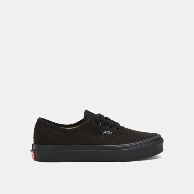 f3121cec57cb2 Shop Black Shop Black Vans Kids' Authentic Shoe for Kids by Vans | SSS