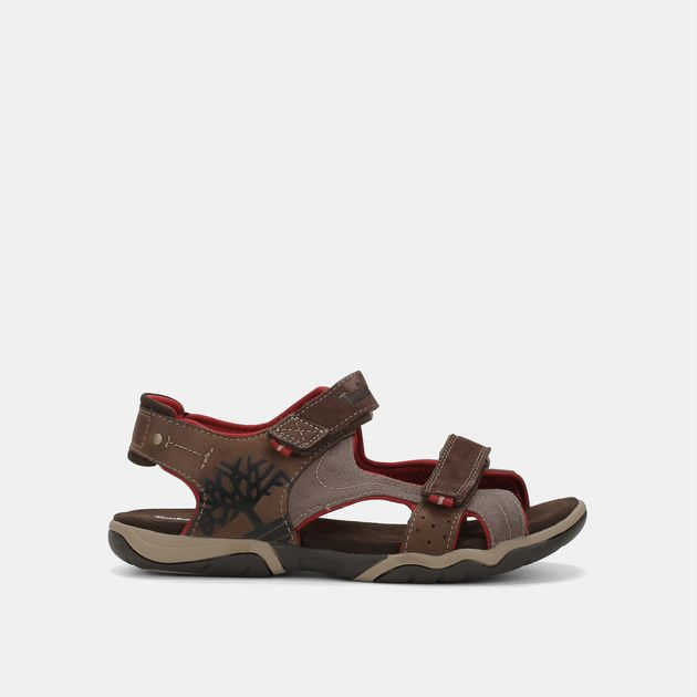 8ce977bfa80066 Shop Multi Timberland Kids  Park Hopper 2-Strap Leather Flat Sandals ...