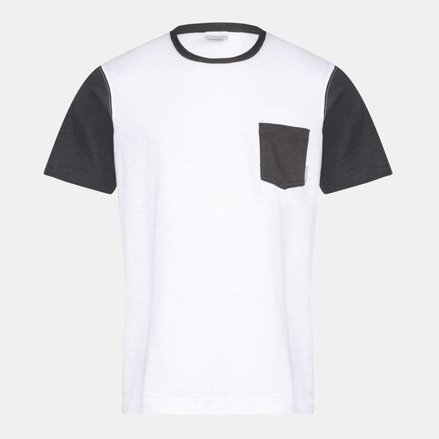 3091b99585d Shop White Columbia Lookout Point™ Pocket T-Shirt for Mens by ...