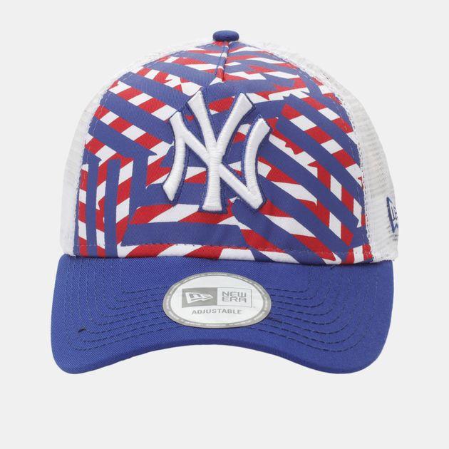 New Era Truck Centric NY Yankee Cap - Blue