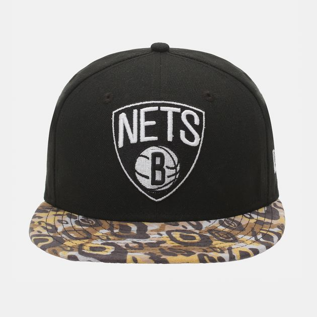 New Era Tribal Vize Brooklyn Nets Cap - Black