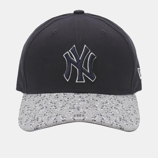 New Era Speckle Peak NY Yankee Cap - Blue