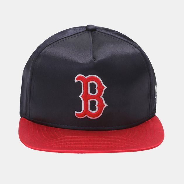 New Era MLB Team Satin Boston Cap - Blue