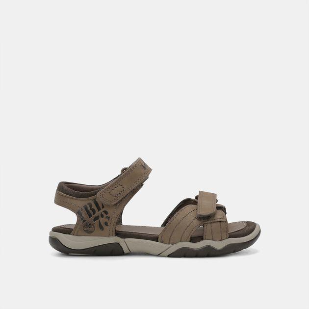 a0ec080ac4541c Timberland Kids  Oak Bluffs Leather 2-Strap Sandals