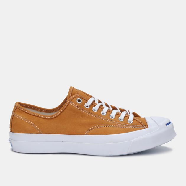 b9bb57e1ae503e Shop Brown Converse Jack Purcell Signature Shoe for Mens by Converse ...