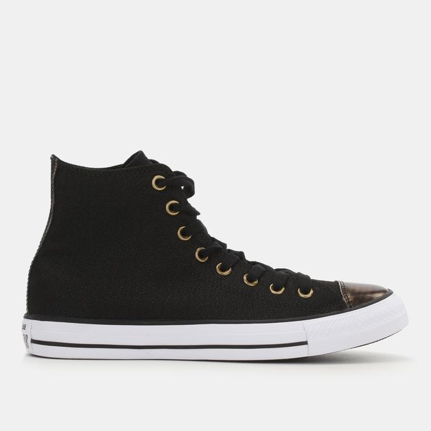 7ae7b17bd4fc Converse Chuck Taylor All Star Brush Off Leather Toecap Shoe ...