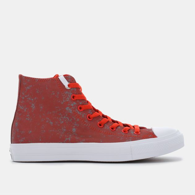 e6561ec736e Shop Red Converse Chuck Taylor All Star II Reflective Wash Shoe for ...
