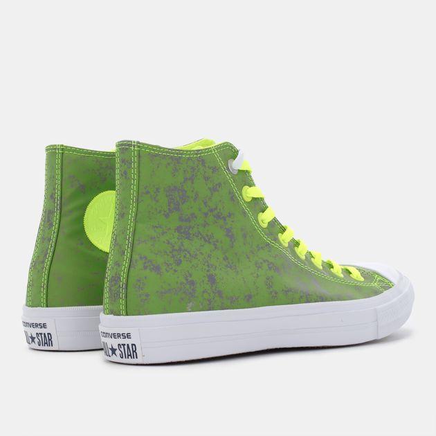 Shop Green Converse Chuck Taylor All Star II Reflective Wash Shoe ... 72e6aeb849