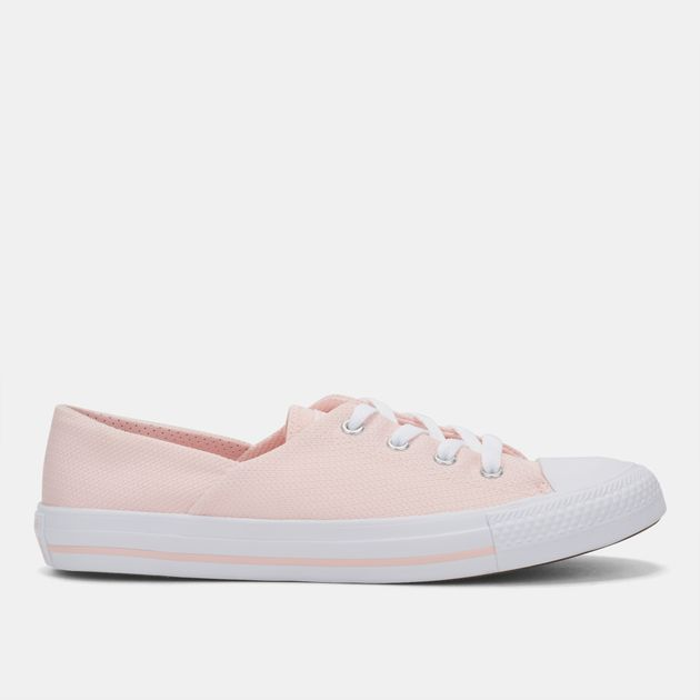 051b4be63b13 Shop Pink Converse Chuck Taylor All Star Ballet Lace Shoe for Womens ...