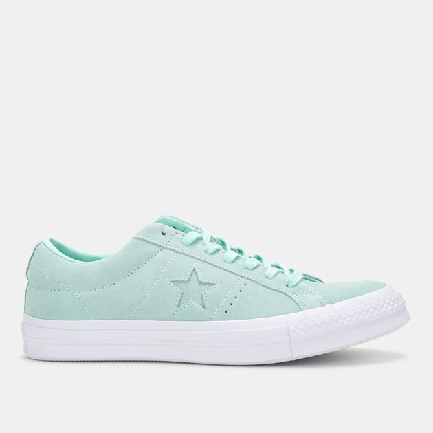 5159d76cb557 Shop Blue Converse One Star Ox Suede Low Top Shoe for Unisex by ...