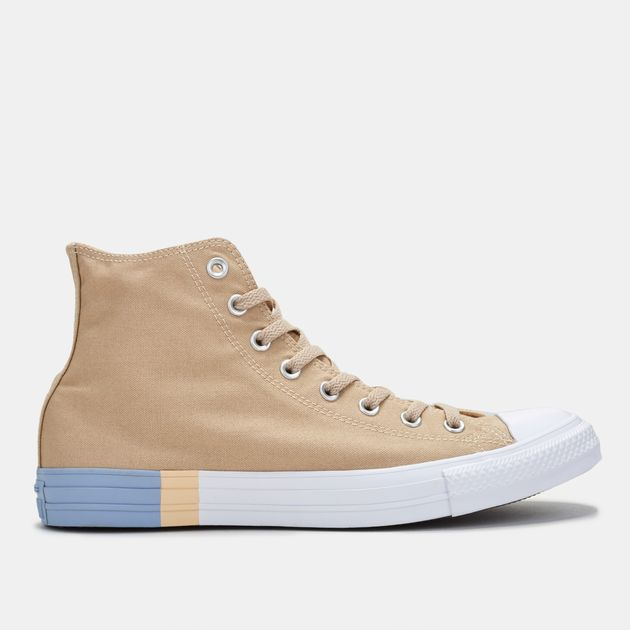 Shop Beige Converse Chuck Taylor All Star Hi-Top Shoe for Unisex by ... be44d070e