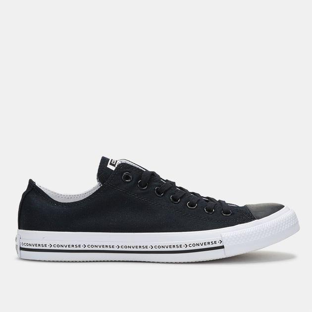 Shop Black Converse Chuck Taylor All Star Ox Low Top Shoe for Unisex ... c3668336f1d