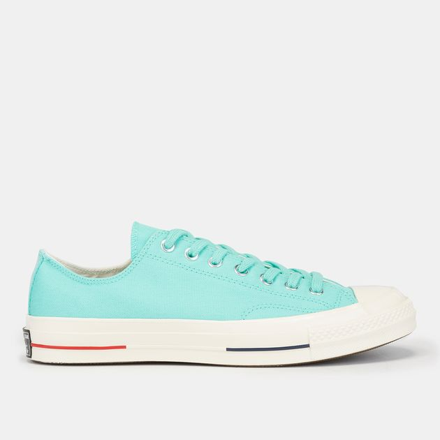 ef15a7c6ab92 Shop Green Converse Chuck 70 Heritage Court Low Shoe
