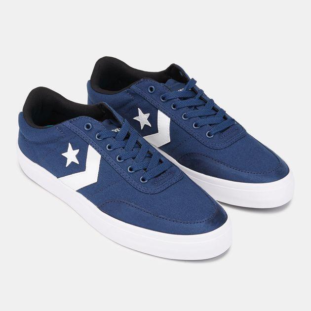 Shop Blue Converse Courtlandt Oxford Shoe  d207ea30e6