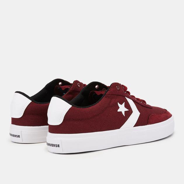 Shop Red Converse Courtlandt Oxford Shoe  15577e8454