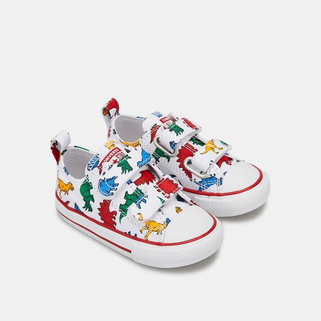 Converse Kids' Chuck Taylor All Star Dinoverse 2V Low Top