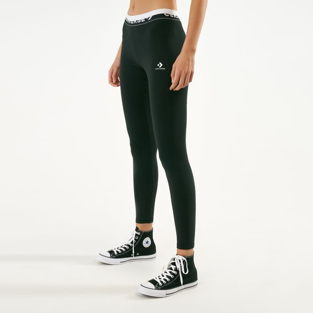 334cdb01d2a5d Converse Women's Bodycon Leggings | Full Length Leggings | Leggings ...