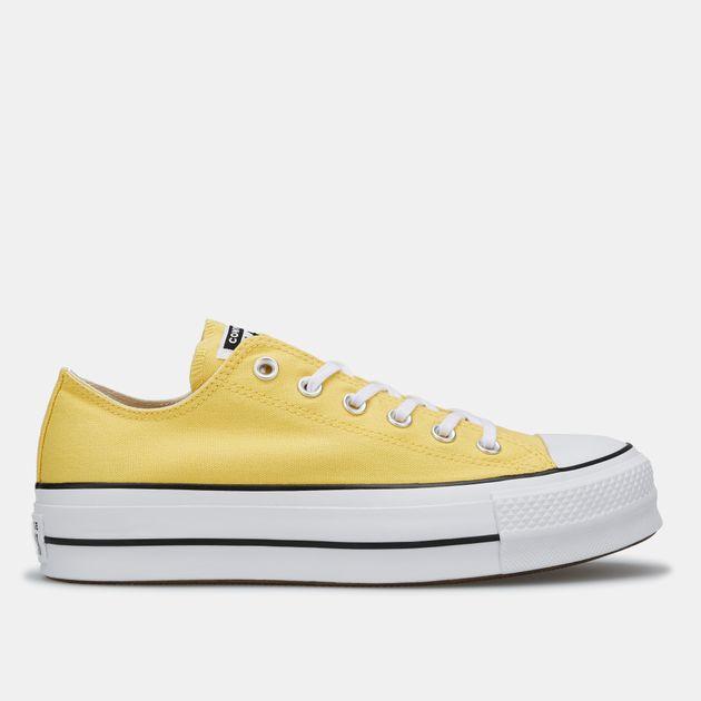 d0d44a1e2a Converse Women's Chuck Taylor All Star Lift Low-Top Shoe | Sneakers ...