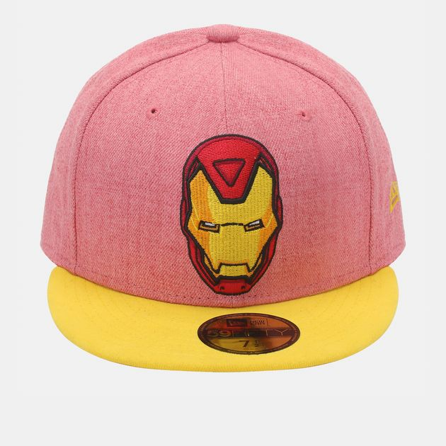 New Era Heather Official Iron Man Cap - Red