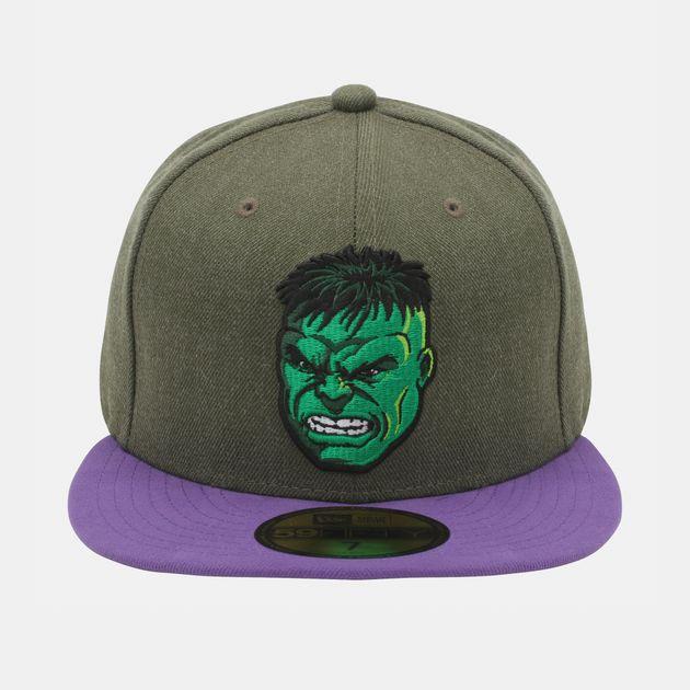 New Era Heather Official Hulk Cap - Green