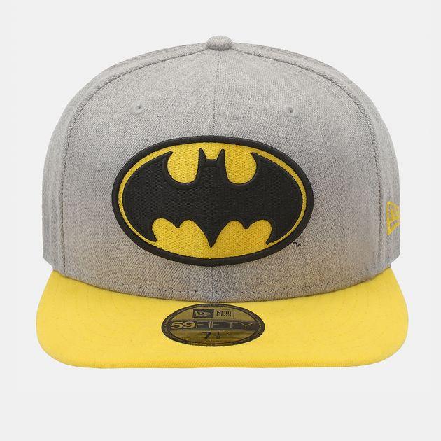 New Era Heather Official Batman Cap - Grey