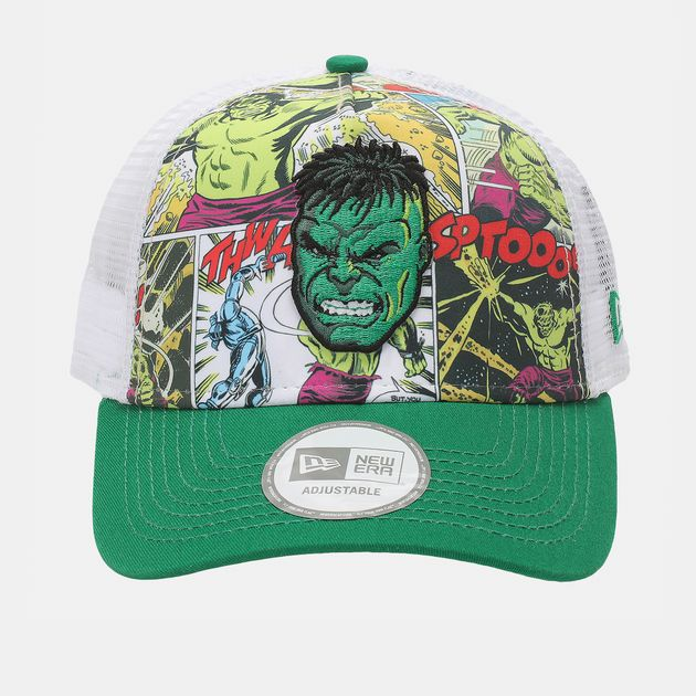 8706e47a36998 Shop Green New Era Comic Truck Incredible Hulk Cap for Mens by New ...