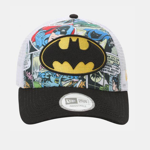 New Era Comic Truck Batman Cap - Black