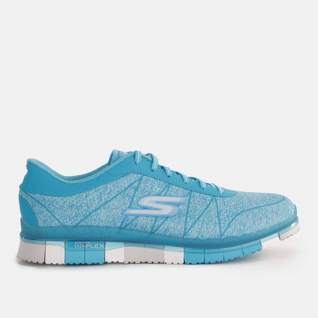 new images of cheap for sale online for sale Shop Blue Skechers GO FLEX Walk™ - Ability Shoe for Womens ...