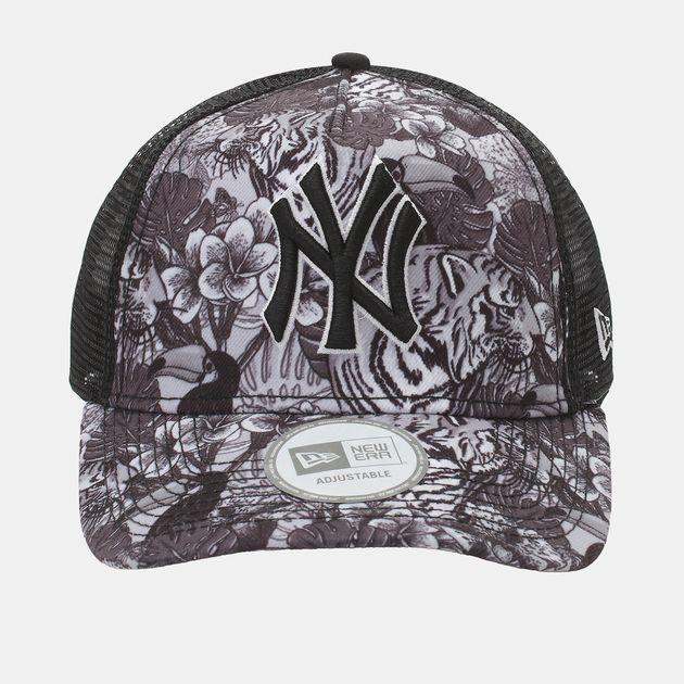 New Era Tiger Trucker NY Yankee Cap - Black
