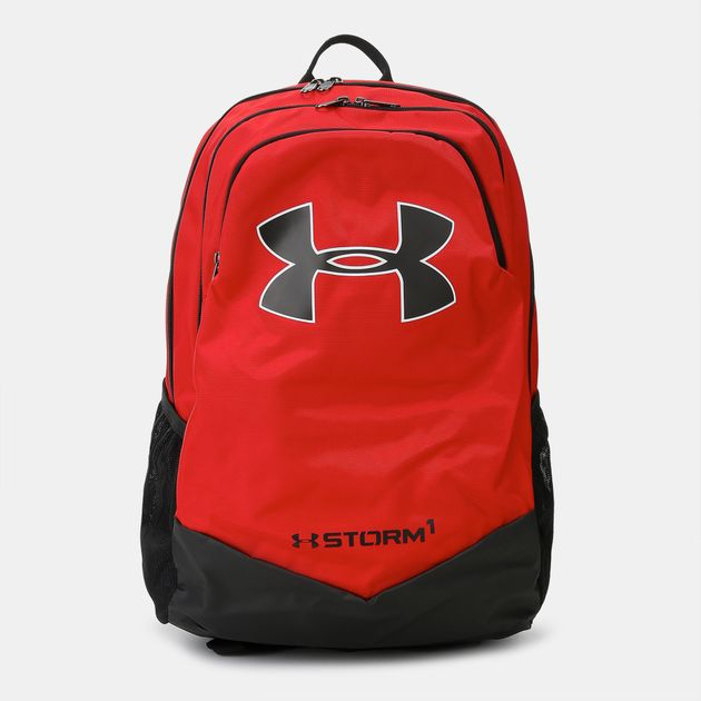 dbc448ae82 Shop Red Under Armour Kids  Storm Scrimmage Backpack for Kids by ...