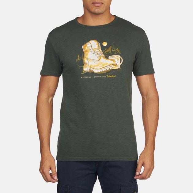 Timberland Kennebec Slub Boot Short Sleeve T-Shirt